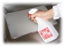 まな板の除菌にもアルコール除菌剤プロアール75