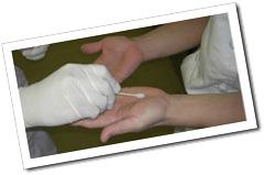 食品工場向け食品衛生診断サービス手指細菌検査